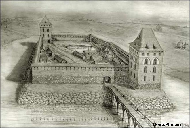 Кревский замок это замок-костель характеристики замка в Крево