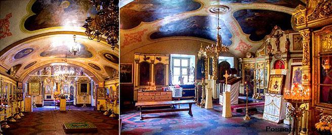 Внутри Никольского храма Касимова