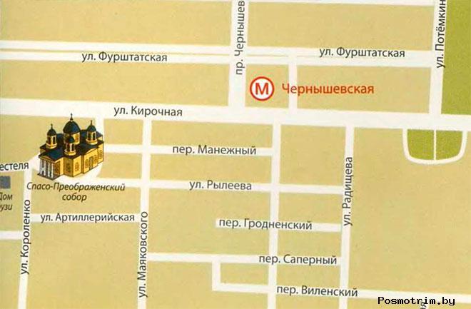 Спасо-Преображенский собор график работы богослужения контакты как добраться расположение на карте