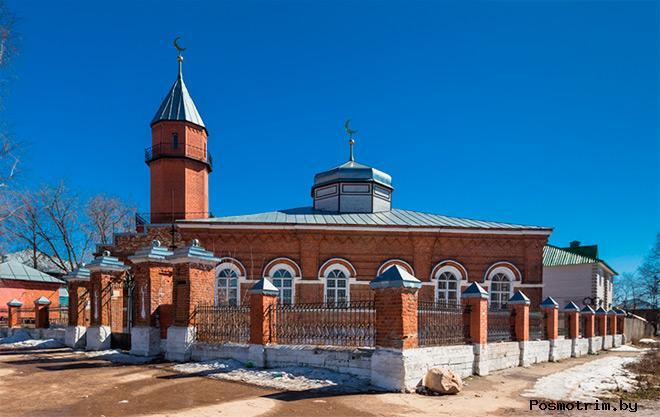 Новая мечеть Касимов