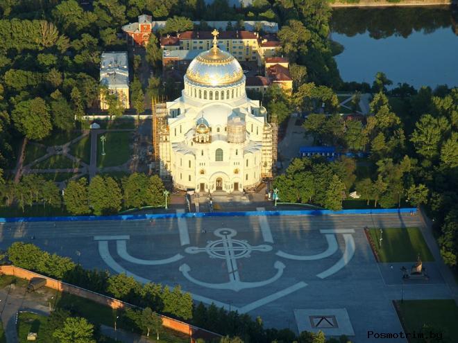 Якорная площадь в Кронштадте