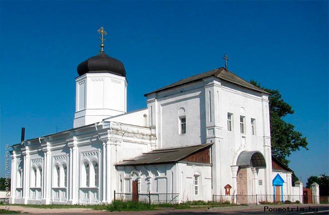 Гжель храм Успения Пресвятой Богородицы
