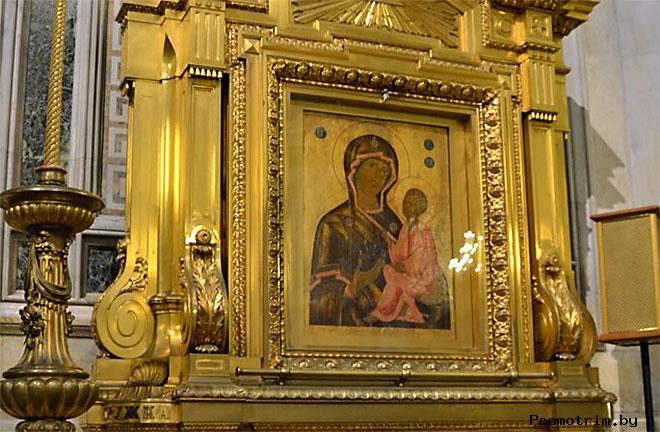 Тихвинская икона Исаакиевского собора