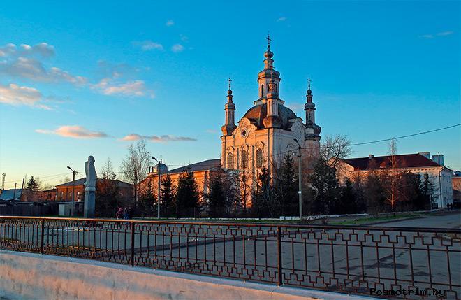 История Спасо-Преображенского собора Шадринска