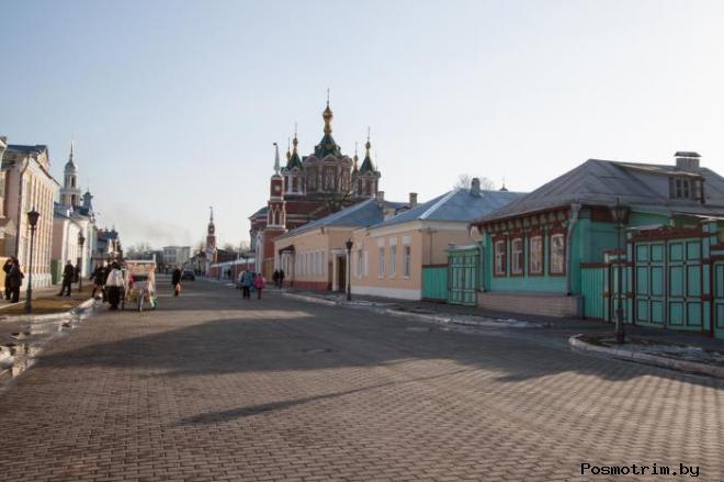 Улица Лажечникова Коломна