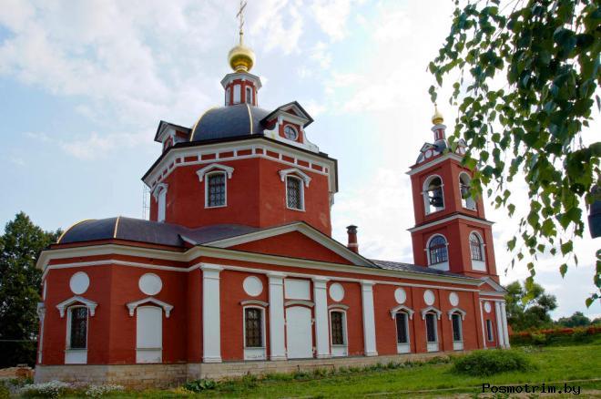 Куртниково Борисоглебская церковь