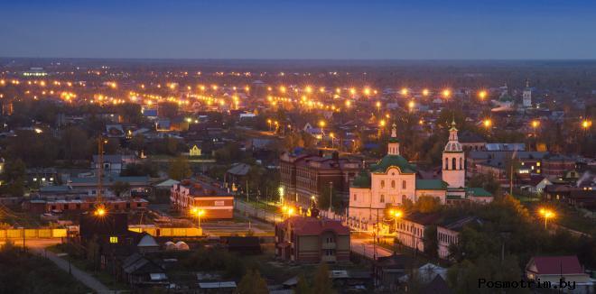 Нижний посад Тобольск (Нижний город)