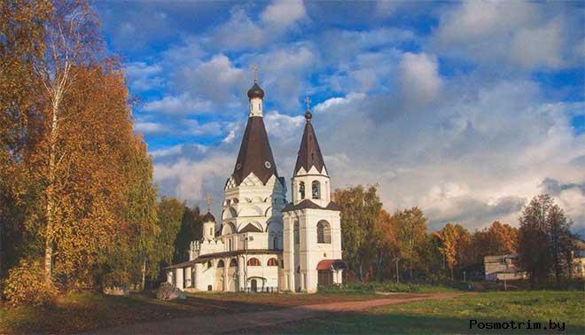 Храм Богоявления Красное-на-Волге(Костромская область)