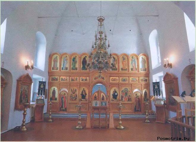 Покровский собор Брянска интерьер