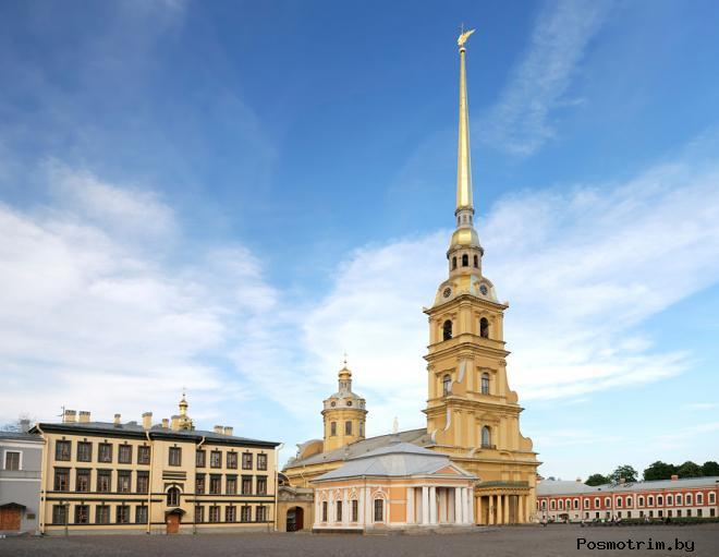 Петропавловский собор история строительства
