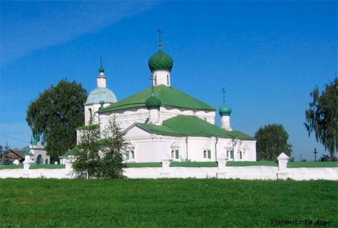 Церковь Илии Пророка на Городище Кострома (Рождества Христова)