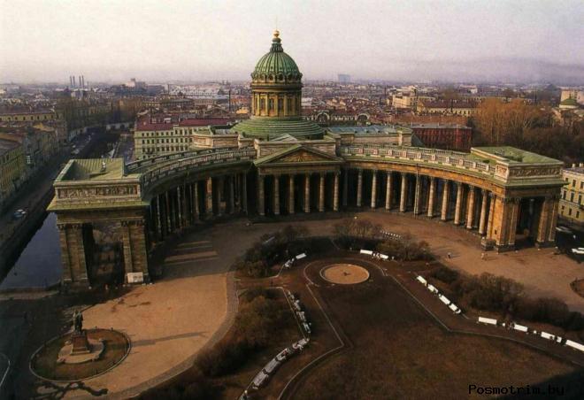 Строительство Казанского храма