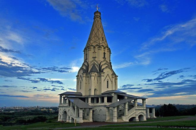 Церковь Вознесения в Коломенском фото история кратко