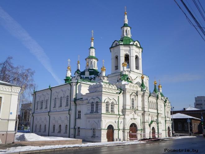 Спасская церковь Тюмень