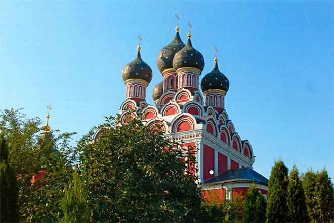 История Тихвинского храма в Алексеевском