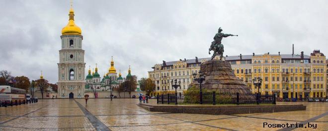 Софийская площадь в Киеве