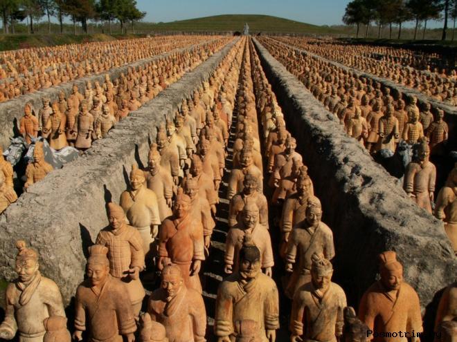 Глиняная армия Цинь Шихуанди
