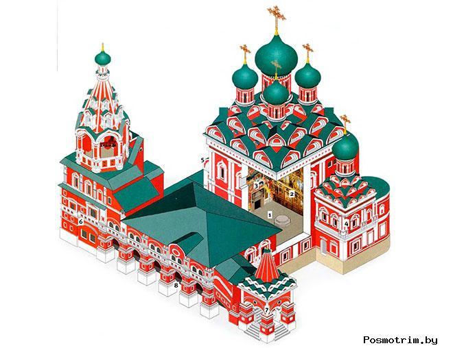 Архитектура церкви Живоначальной Троицы в Никитниках