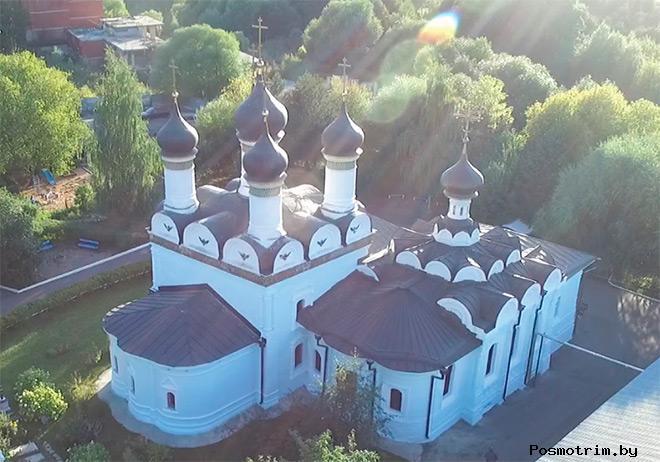 Храм Покрова Богородицы в Братцево строительство