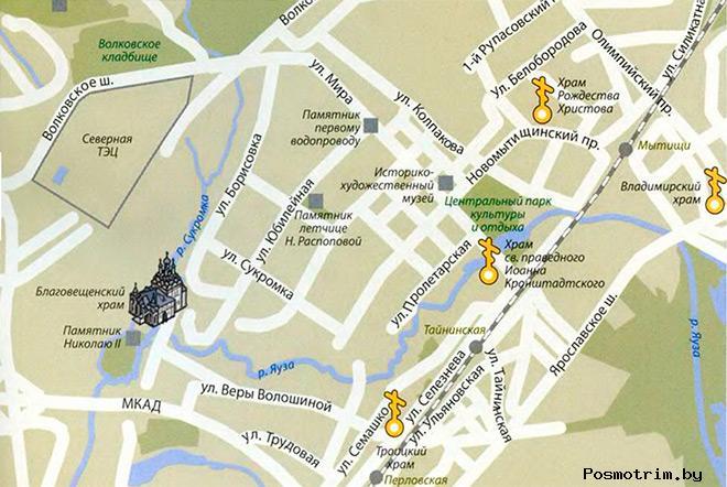 Богослужения в Тайнинском храме контакта как добраться расположение на карте