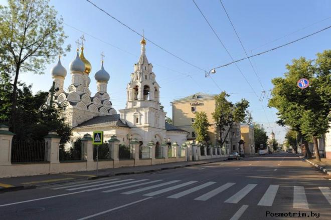 Улица Большая Ордынка Москва