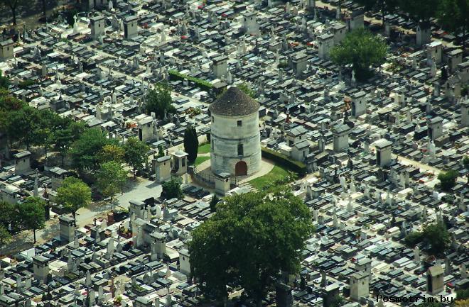 Расположение кладбища Пер-Лашез на карте Парижа как добраться самостоятельно