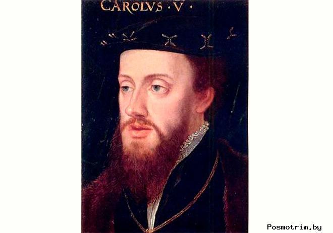 Карл V император Священной Римской империи