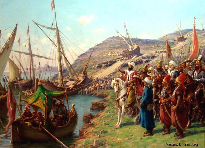 Захват Константинополя Османами в 1453 году