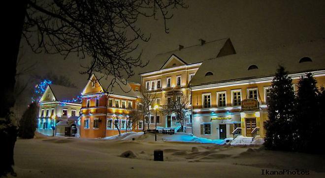 Троицкое предместье в Минске