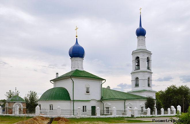 Архитектура Никольского храма в Касимове