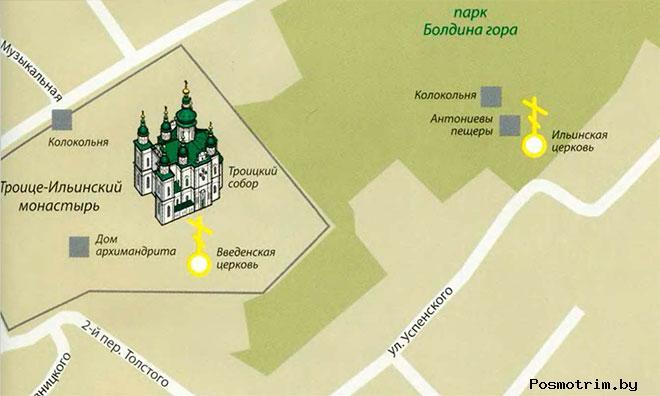 Свято-Троицкий собор Чернигова график работы богослужения контакты как добраться расположение на карте