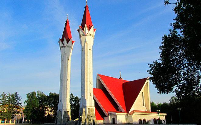 Мечеть «Ляля-Тюльпан» Уфа
