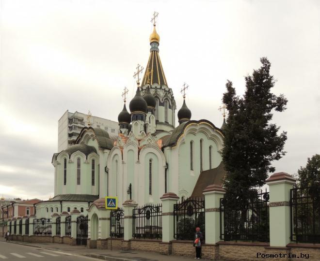 Строительство Храма Воскресения Христова в Сокольниках