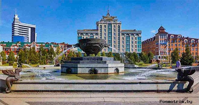 Парк Тысячелетия Казань