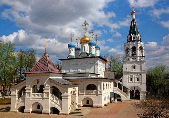 Храм Благовещения Пресвятой Богородицы в Павловской Слободе