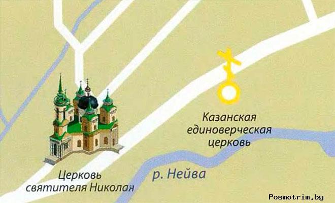 Никольский храм в Быньгах богослужения контакты расположение на карте как добраться