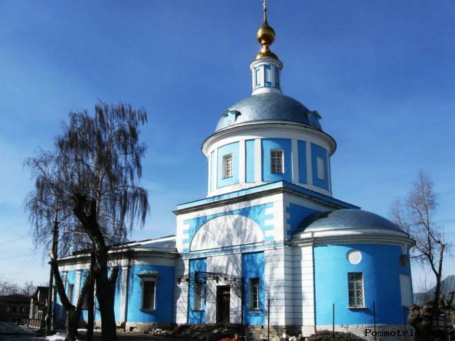 Покровский храм на Посаде Коломна