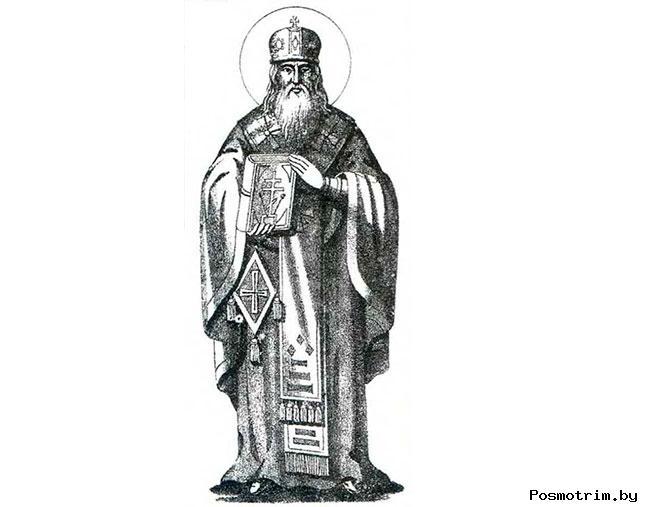 Архиепископ Новгородский Святитель Мартирий основатель Старорусского Преображенского монастыря