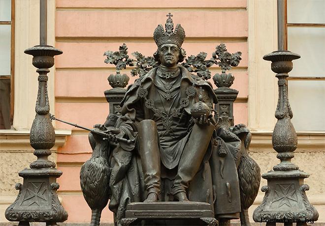 Павел I - охранитель духовенства