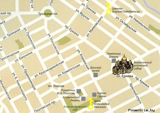 Вознесенский собор Новочеркасск расписание богослужений контакты как добраться расположение на карте