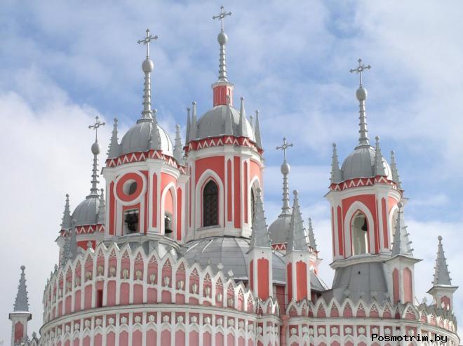 Архитектура Чесменской церкви