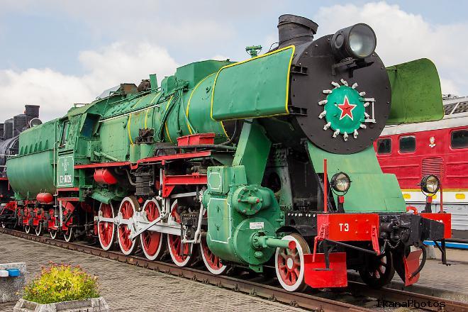 Музей паровозов в Бресте