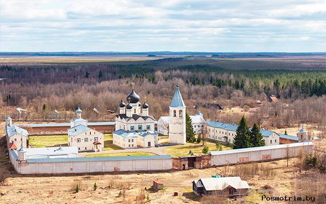 Строительство Зеленецкого монастыря