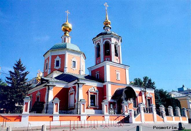 Троицкий храм Свиблово Москва