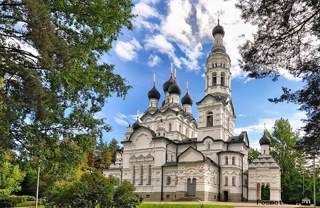 Зеленогорск Храм Казанской Божьей Матери