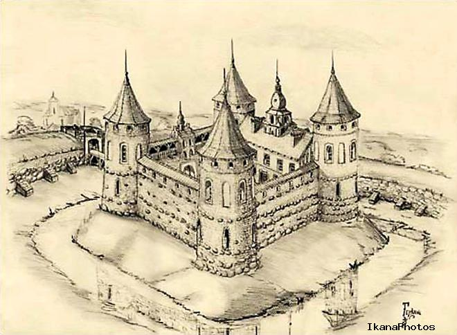 Геранёнский замок фото история замка в Геранёнах