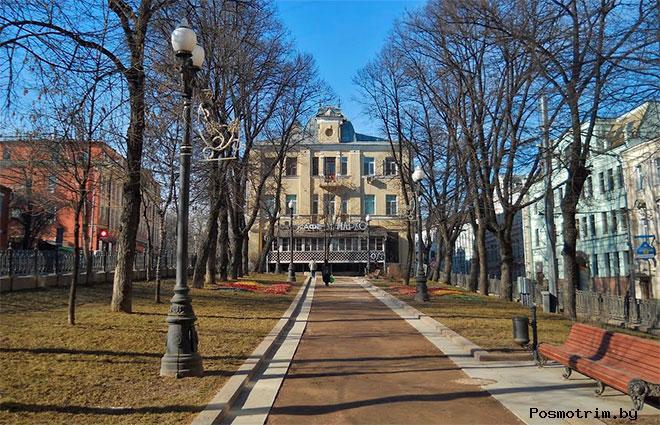 Петровский бульвар Москва