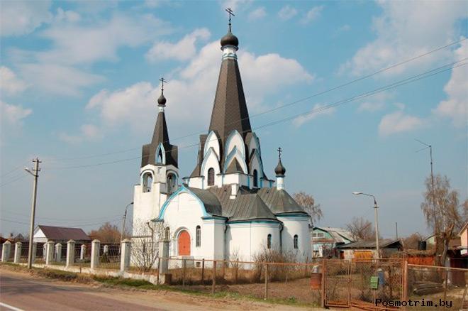 Церковь Георгия Победоносца в Новохаритонове