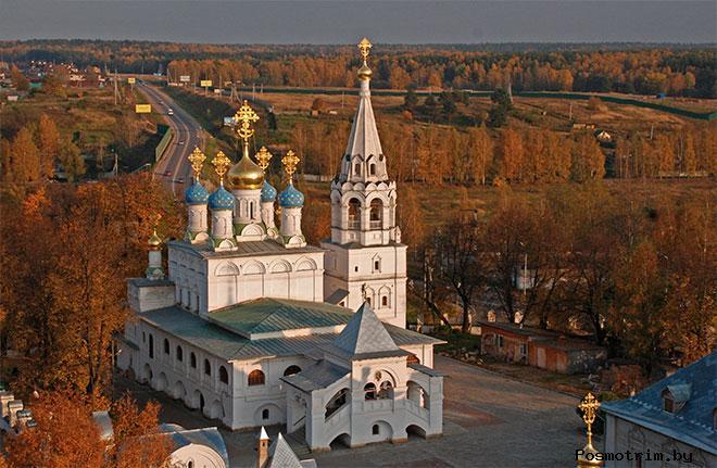 Строительство храма Благовещения Пресвятой Богородицы в Павловской Слободе