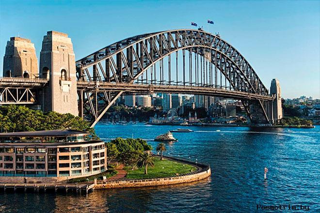 Мост Харбор-Бридж Сидней
